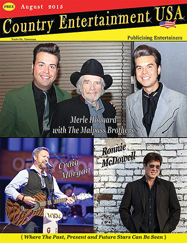 Country Entertainment USA, August Issue