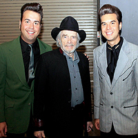 Merle Haggard with The Malpass Brothers